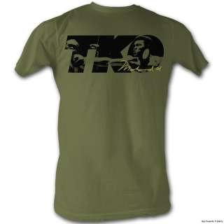 Licensed Muhammad Ali TKO Adult Shirt S 2XL