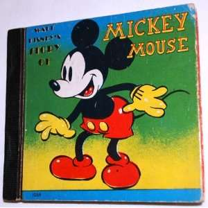 Walt Disney Story of Mickey Mouse Walt Disney Books