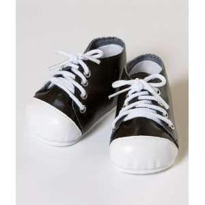 Black/White Tennis Shoes 2010 Adora doll shoes: Toys & Games