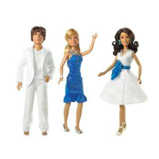 BARBIE HIGH SCHOOL MUSICAL 2 MIDSUMMERS NIGHT 3 DOLLS