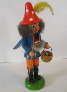 80s German Nutcracker Doll From Near Ramstein Air Base