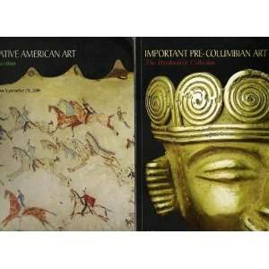 Important Pre Columbian Art and Important Native American Art