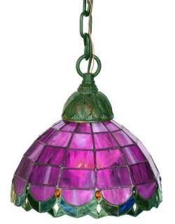 Tiffany Style Stained Glass Mini Light Pendant Lighting