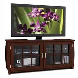 Sonax Washington Bay Real Wood & Bench TV Stand 776069402078