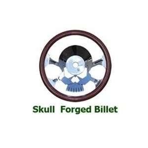 Skull Oldstyle Full Wrap Billet Steering Wheels Automotive
