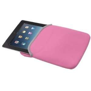 Pink Neoprene Bag Case Cover Sleeve for Motorola XOOM Electronics