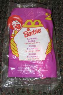 1996 Barbie Rapunzel McDonalds Happy Meal Toy #2