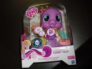 Little Pony So Soft Sunny Daze Girls Bedtime Story Huggable Plush Toy