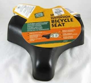 CopperCanyon Cycling Spring Suspension Bicycle Seat NEW