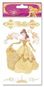 Jolees BELLE Gold Dimensional Sticker
