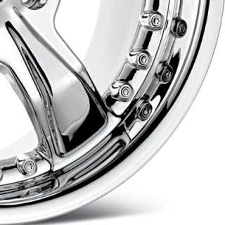 American Racing Razor Chrome Plated