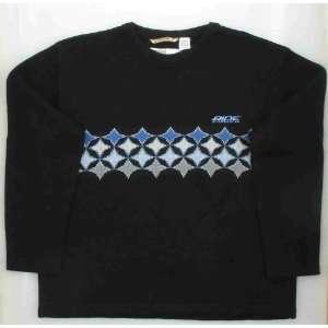 New Ride Crew Neck Black Diamond Chest Mens Sweater Large