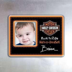 Harley Davidson Black Magnet Frame