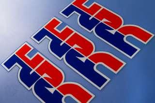 3x OEM Quality HRC Decal Sticker Logo Aufkleber Autocollant Etiqueta