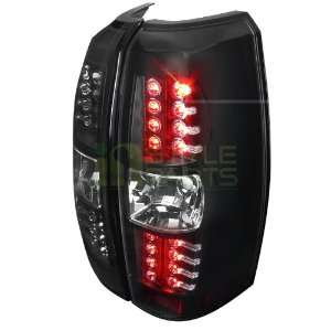 2007 2011 Chevy Avalanche Black Led Tail Lights