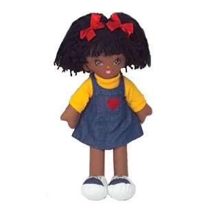 19 Soft Cuddly Doll Black Girl