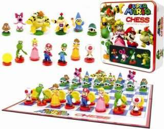 Nintendo Super Mario Bros Limited Collectors Edition Chess Set BNIB UK