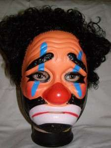 The Sad Clown Mask ! Fun for Party ! Its Different !