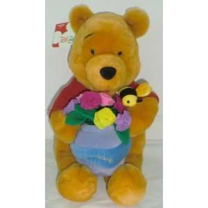 The    Winnie the Pooh with Flowers 13 Plush