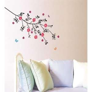 Flowering Tree Decor Mural Wallpaper Sticker SS 58230