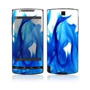 Blue Flame Protective Skin Cover Decal Sticker for HTC Pure Cell Phone