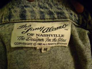 TONY ALAMO Beverly Hills VINTAGE denim jacket M