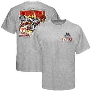 Alabama Crimson Tide vs. Texas Longhorns Ash 2010 BCS National