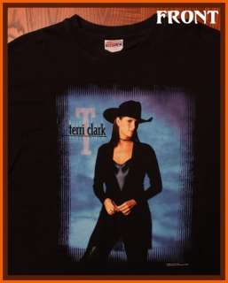 Terri Clark 2000 Country Concert Tour Music T Shirt L