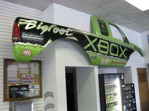 BIGFOOT Monster Truck Xbox Full Fiberglass Body Side