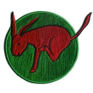 95th Bomb Squadron 17th Bomb Group 5 Patch Green
