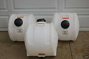 Gal Water Inductor Tank Stand Biodiesel Processor Poly Plastic Tanks