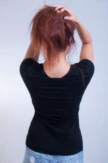 NEW WOMENS LUXIRIE LRG HIP HOP BLACK PINK STUDDED LOGO TEE T SHIRT