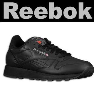 NEW REEBOK SHOES CLASSIC LEATHER BLACK ALL SIZE 7.5~13