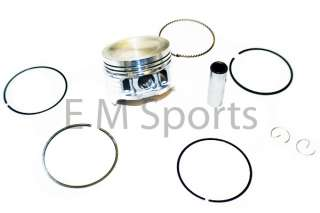 Dirt Pit Bike Atv Quad 125cc Piston Kit 52.4 13mm Clip