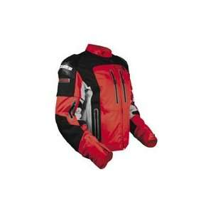 Speed & Strength Hell N Back Mens Textile Motorcycle Jacket Red/Black