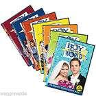 NEW Boy Meets World Seasons 1 7 on DVD Season 1 2 3 4 5 6 7 Complete