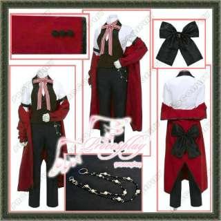 Kuroshitsuji Black Butler Grell Sutclif Cosplay Costume