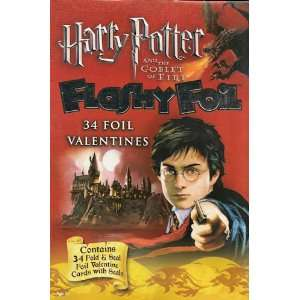 Harry Potter Valentines Day Cards 34 Count Box Toys