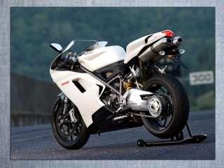 D4666 Ducati 848 Super Sport Bike Motorcycle 32x24 POSTER