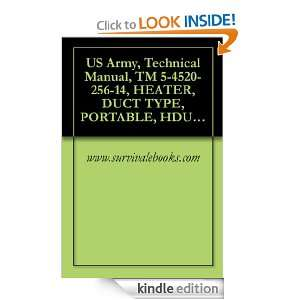 Army, Technical Manual, TM 5 4520 256 14, HEATER, DUCT TYPE, PORTABLE