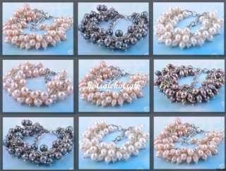 Pink Rhinestone Crystal Heart Cuff Bracelet Bangle Jewelry B30_7