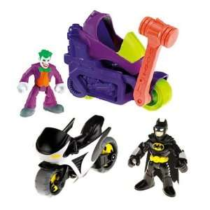 Imaginext Batman Vs Joker cycle Toys & Games