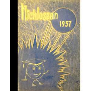 (Reprint) 1957 Yearbook Nicholas County High School, Summersville