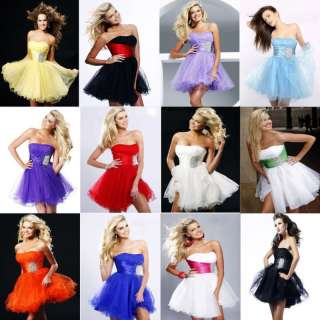 Formal Prom Party Ball Gown Graduation Evening Cocktail Dress