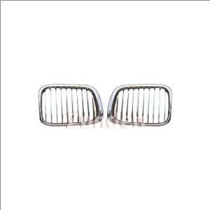 Zunden Trim Chrome OEM Style Grille 01 07 BMW 323i Automotive