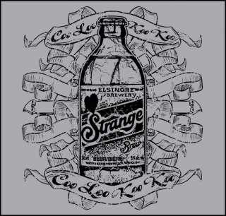 STRANGE BREW MOVIE CREAM ELSINORE BEER T SHIRT S XXL
