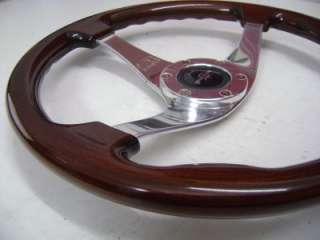 Personal Monza Wood Classic Original Steering Wheel