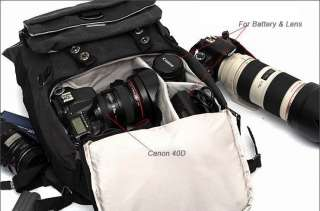 Laptop Backpack Traveling Bag Canon EOS Nikon Sony C172 Beige