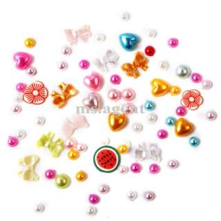 1200pcs mix shaped nail art rhinestones decoration C335