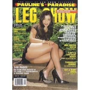 LEG SHOW PAULINES PARADISE SPECIAL #45 2004: LEG SHOW MAGAZINE